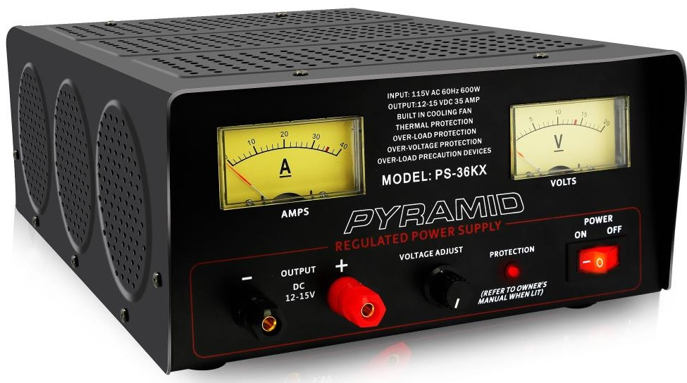 36 Amp 12V AC to DC Power Supply - Pyramid PS36KX