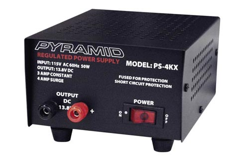 3 Amp 12V AC to DC Power Supply - Pyramid PS4KX