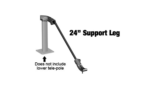 RAM RAMVBSL24 Mount 24in Support Leg for Ram Laptop Mounts