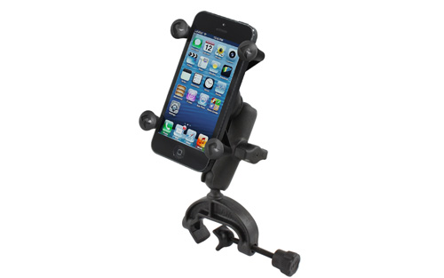 RAM RAP-B-121-UN7U Universal Composite Clamp Mount with Universal X-Grip Cell/iPhone Holder