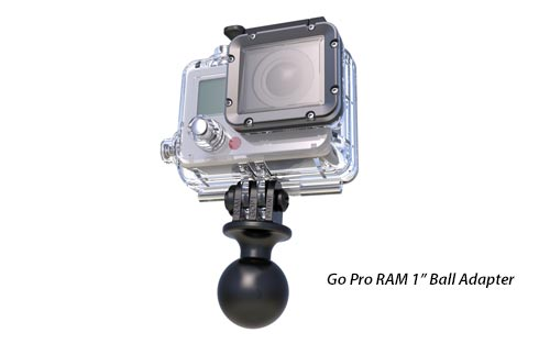 RAM GoPro Hero Adapter with 1