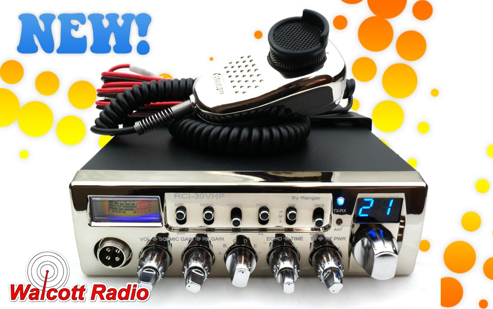 Ranger RCI-39VHP 90 Watt PeP High Power 10 Meter Radio with Small Case Size