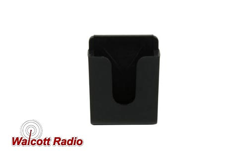 CB Microphone Holder, Black, Adhesive
