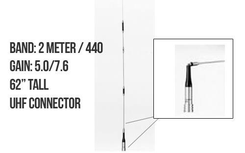 Diamond Antenna SG7500A Dualband Mobile Antenna