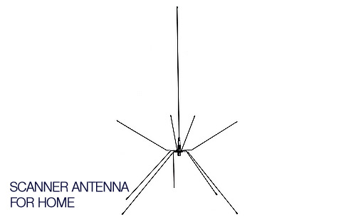 SP80075BN - Spider Base Station Scanner Antenna