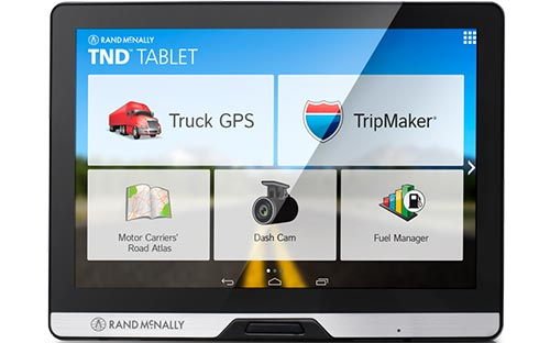 Rand McNally TND Tablet Advanced truck GPS + Android tablet w 8 inch Screen