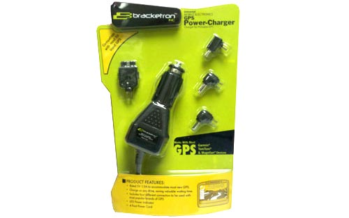 Bracketron UGC229BL GPS Power Cord