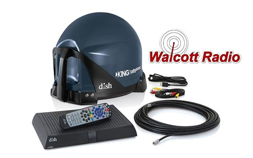 Dish Network King VQ4510 Tailgater and ViP211z Receiver Bundle