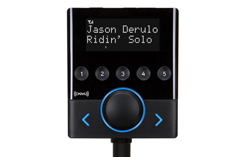 Compact XM Satellite Radio - extremely easy to install XSN1V1