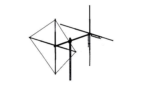 Maco Y Quad Beam Base Station Cb Antenna