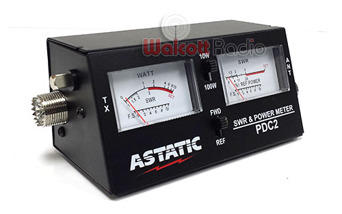 Astatic PDC2 - 100 Watt Power & SWR Meter