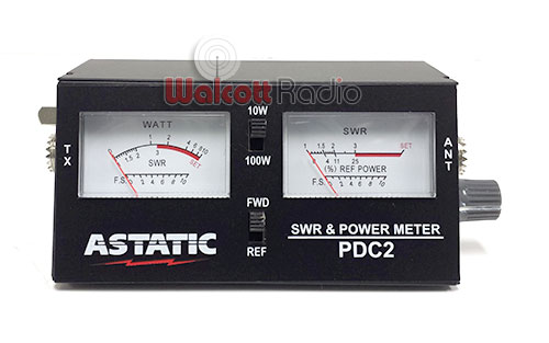 Astatic Pdc2 100 Watt Power Swr Meter