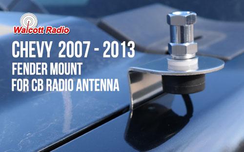 GM3L Fender Mount for 2007-2013 Chevy Silverado
