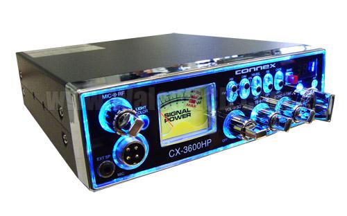 Connex CX3600HP 100+ Watt 10 Meter Radio with Multi-Color Face