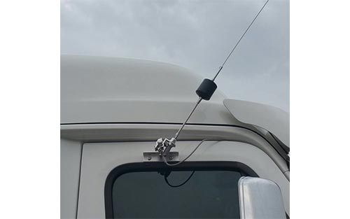 Cascadia Passengers Side Heavy Duty Single Perch Antenna Mount