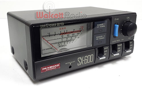 Diamond Antenna SX-600 SWR and Power Meter HF/UHF/VHF