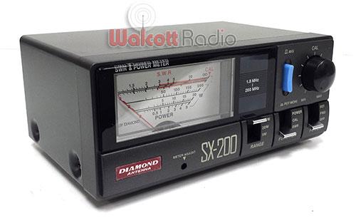 Diamond SX-200 HF/VHF SWR and Power Meter