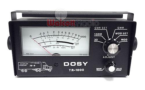TR1000 image - dosy_tr1000_swr_meter_front.jpg
