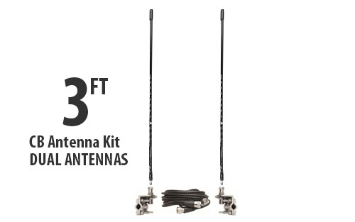 TS822-3B image - dual-cb-antenna-kit-3-foot-black.jpg