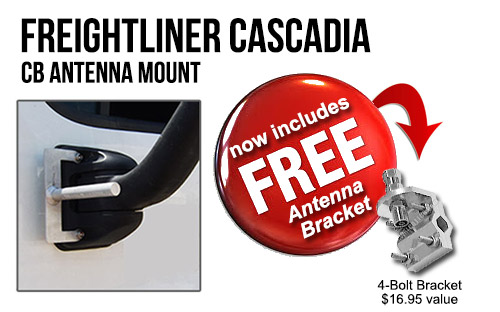 CAC1-COMBO FL Cascadia Antenna Mount w/ Firestik M164A Bracket a