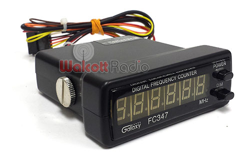 Sound Frequency Counter Handheld : Galaxy fc blue digit frequency counter