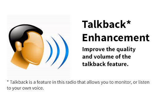 Talkback Enhancement Modification