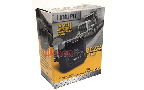 BC23A image - uniden_bc23a_amplified_speaker.jpg