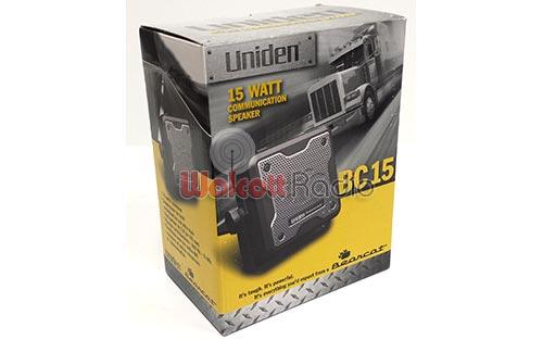 BC15-SPEAKER image - uniden_bearcat_bc15_speaker_box_front.jpg