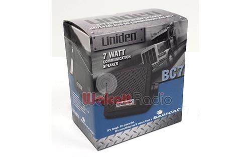 BC7-SPEAKER image - uniden_bearcat_bc7_speaker_box_side.jpg